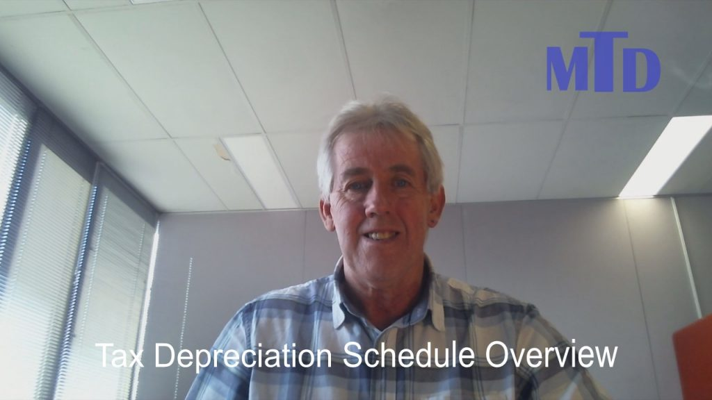 Sample Depreciation Schedule Overview